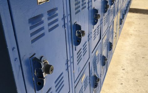 These are the current lockers  student use at San Pasqual.