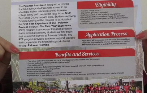 The Palomar Promise is offered to all seniors that meet the eligibility terms to further their education and prepare them for possible careers.