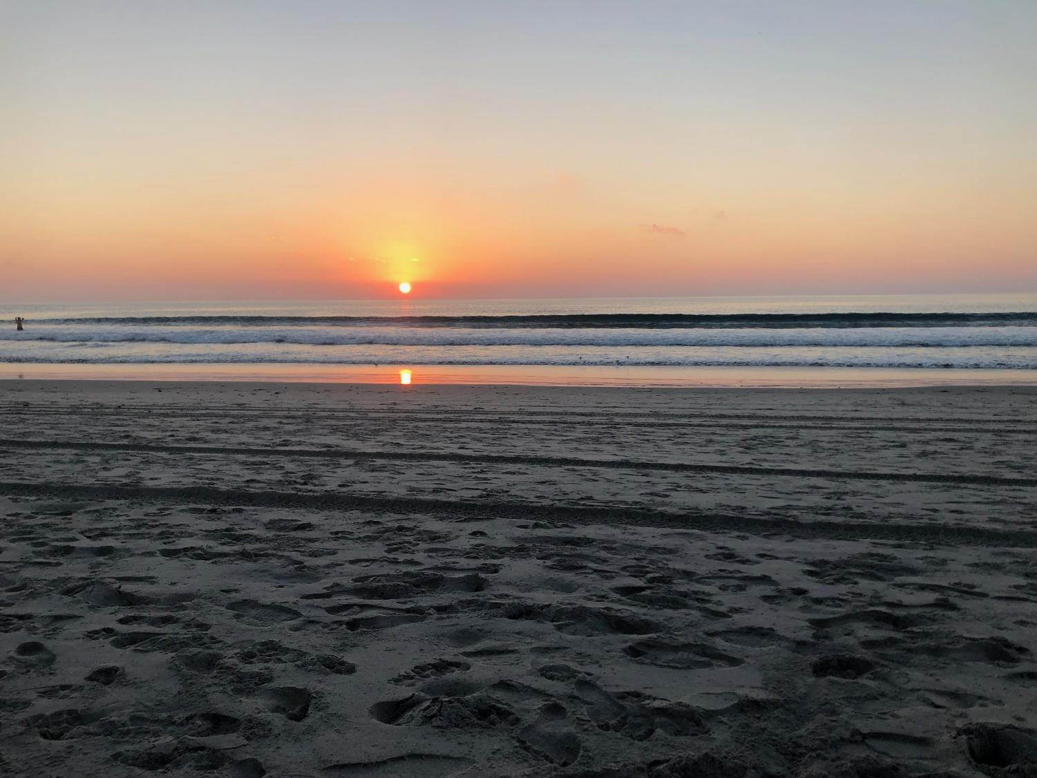 Solana beach is a great place to take some scenic pictures during Spring break.