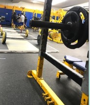 San Pasqual High School's weight room.  Photo credit: Briana Le