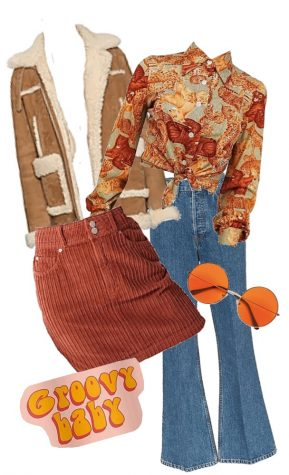 Decades Spirit Week Outfit Style Boards || March 9-13, 2020