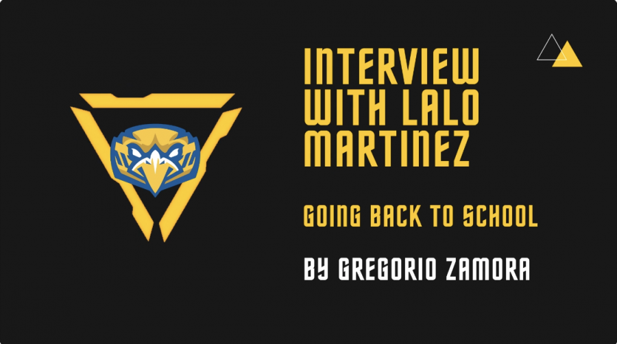 Going Back to School: An Interview with Lalo Martinez